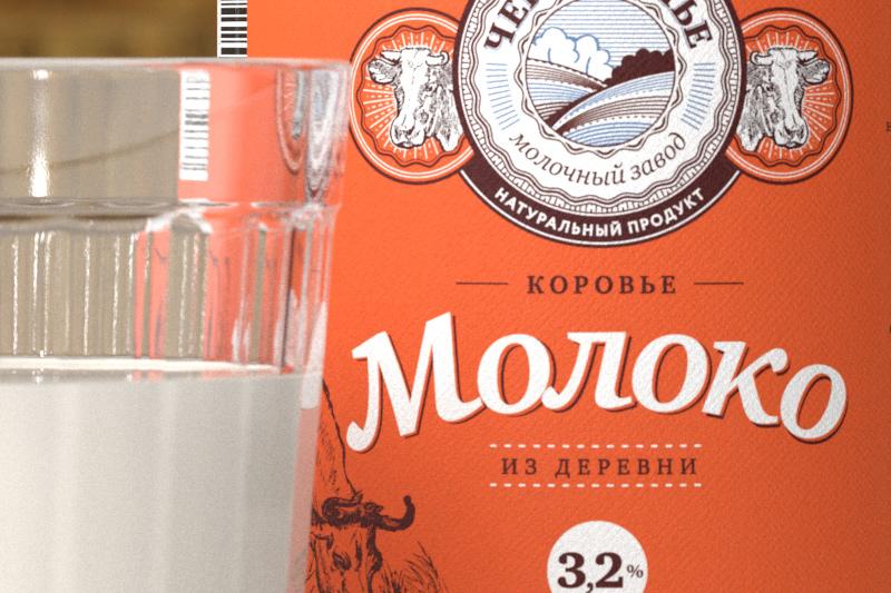 упаковка молока