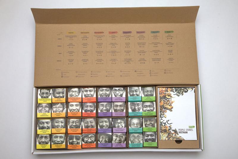 упаковка подарочного чая