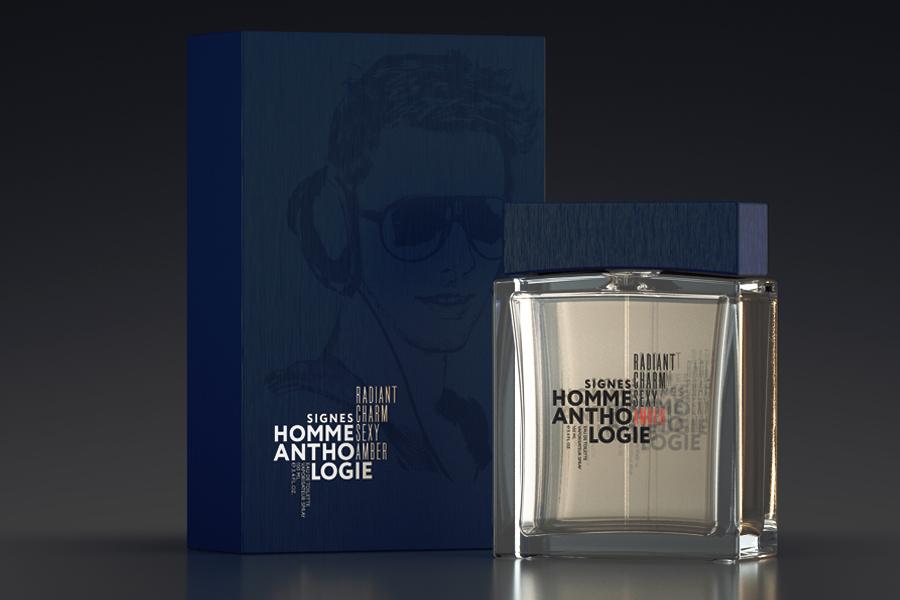 дизайн упаковки парфюма
