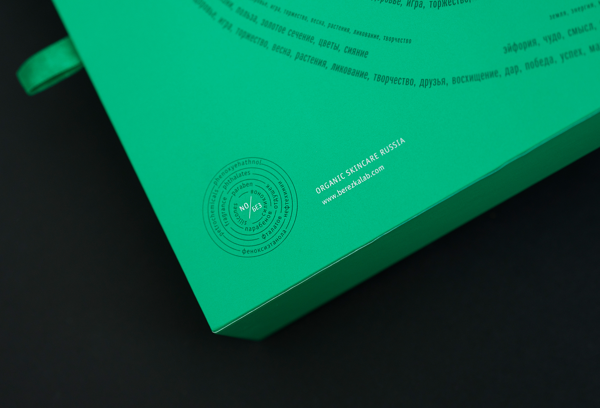 подарочная упаковка для косметики BerezkaLab