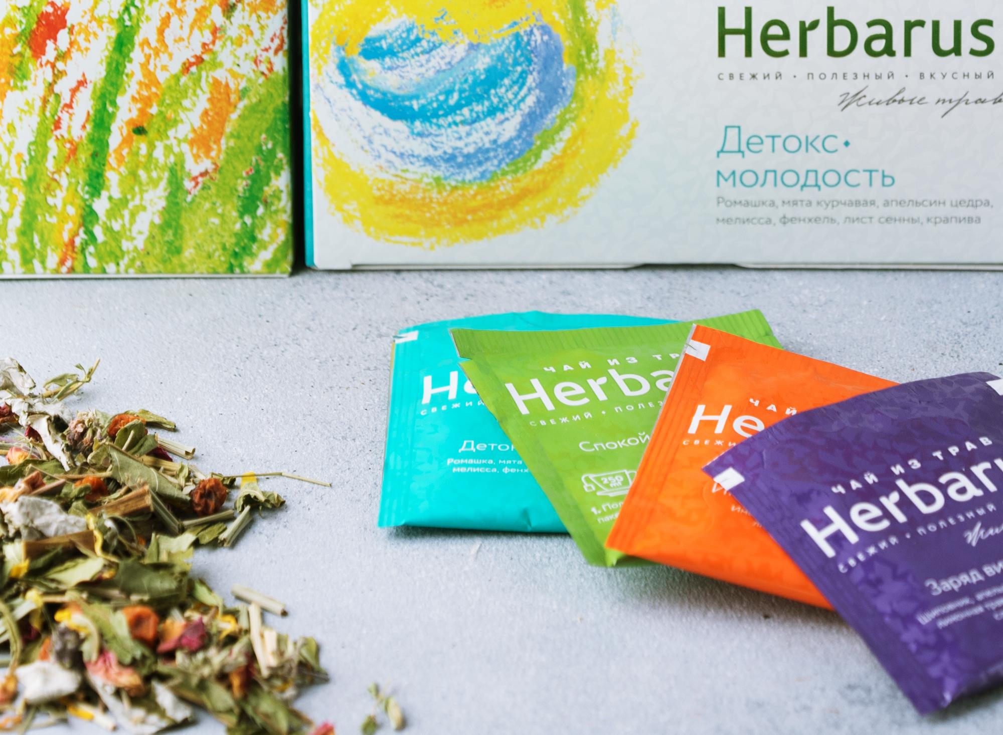 разработка упаковки пакетированного чая