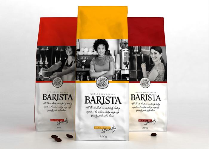 разработка дизайна кофе