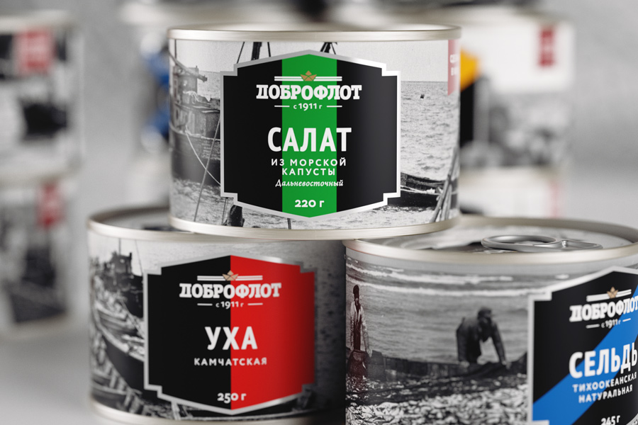 canned fish Dobroflot