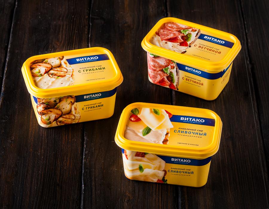 плавленый сыр витако редизайн