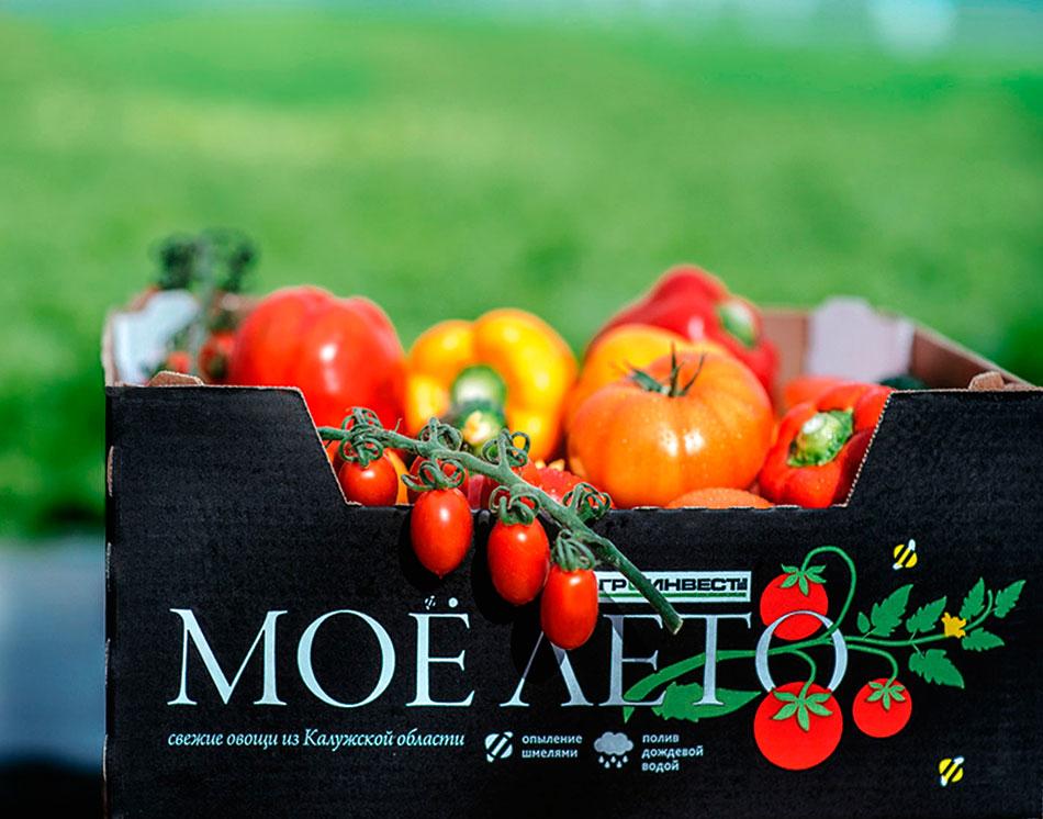 упаковка овощей Моё лето
