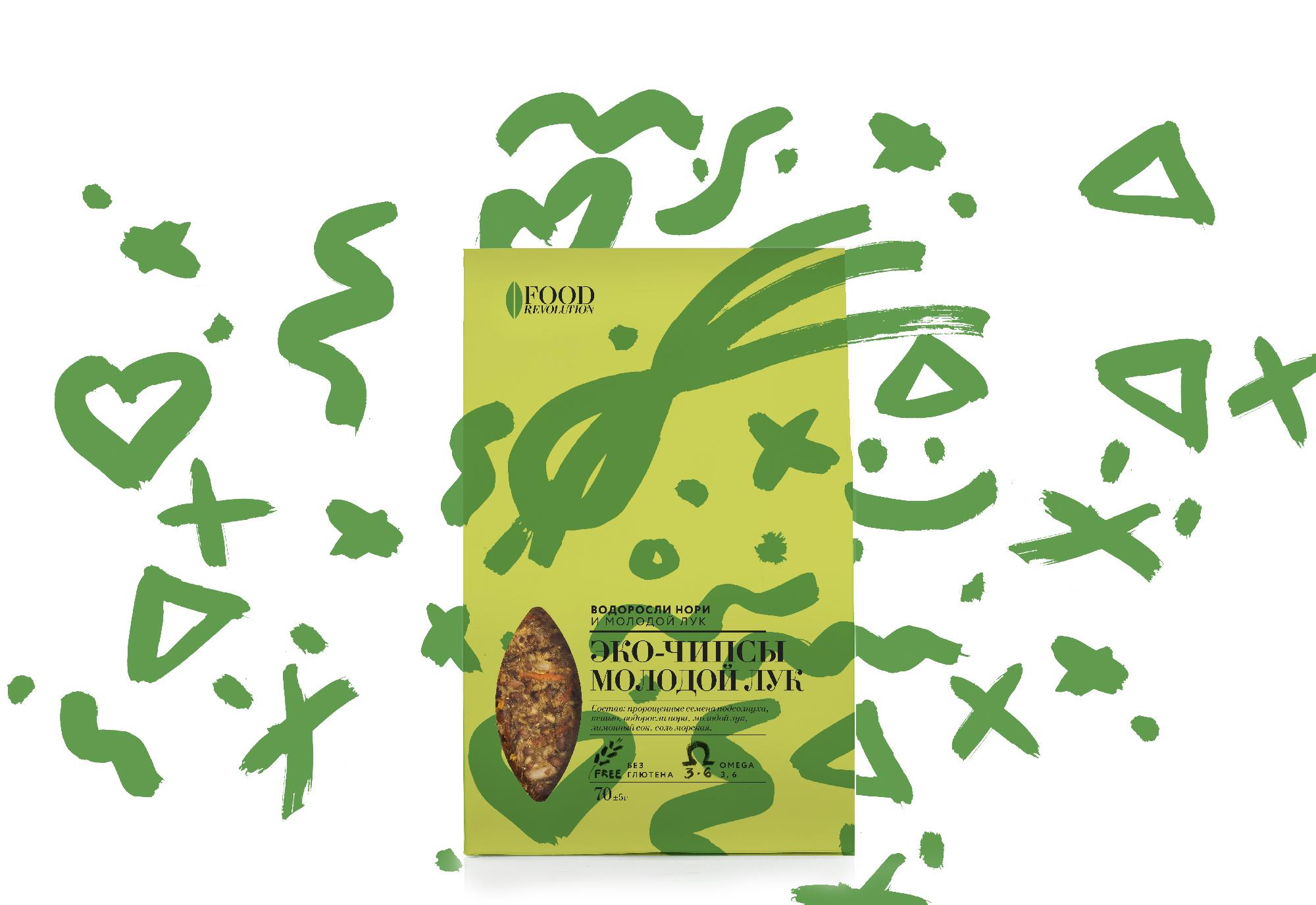 эко-чипы Food Revolution