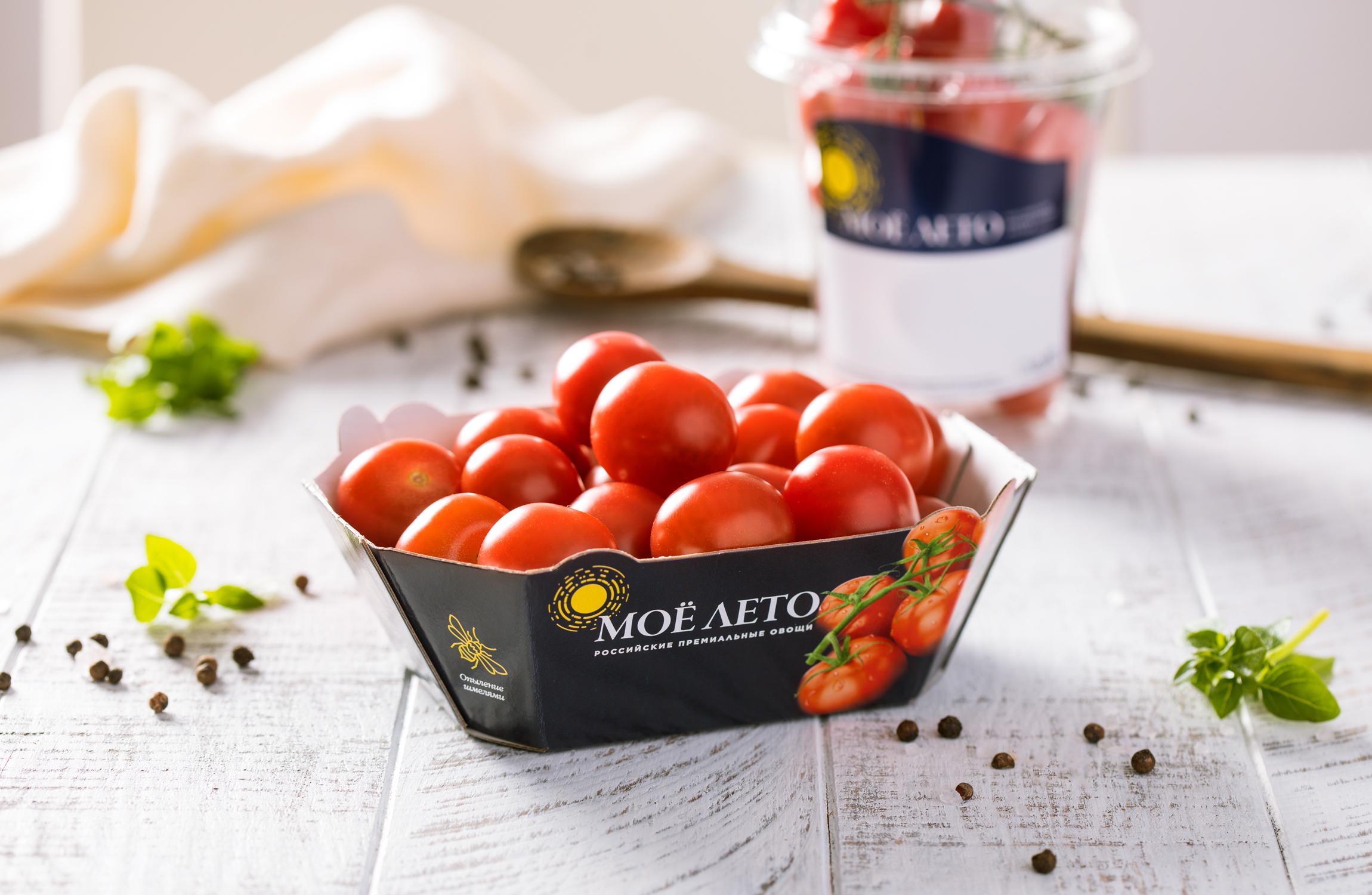 упаковка томатов