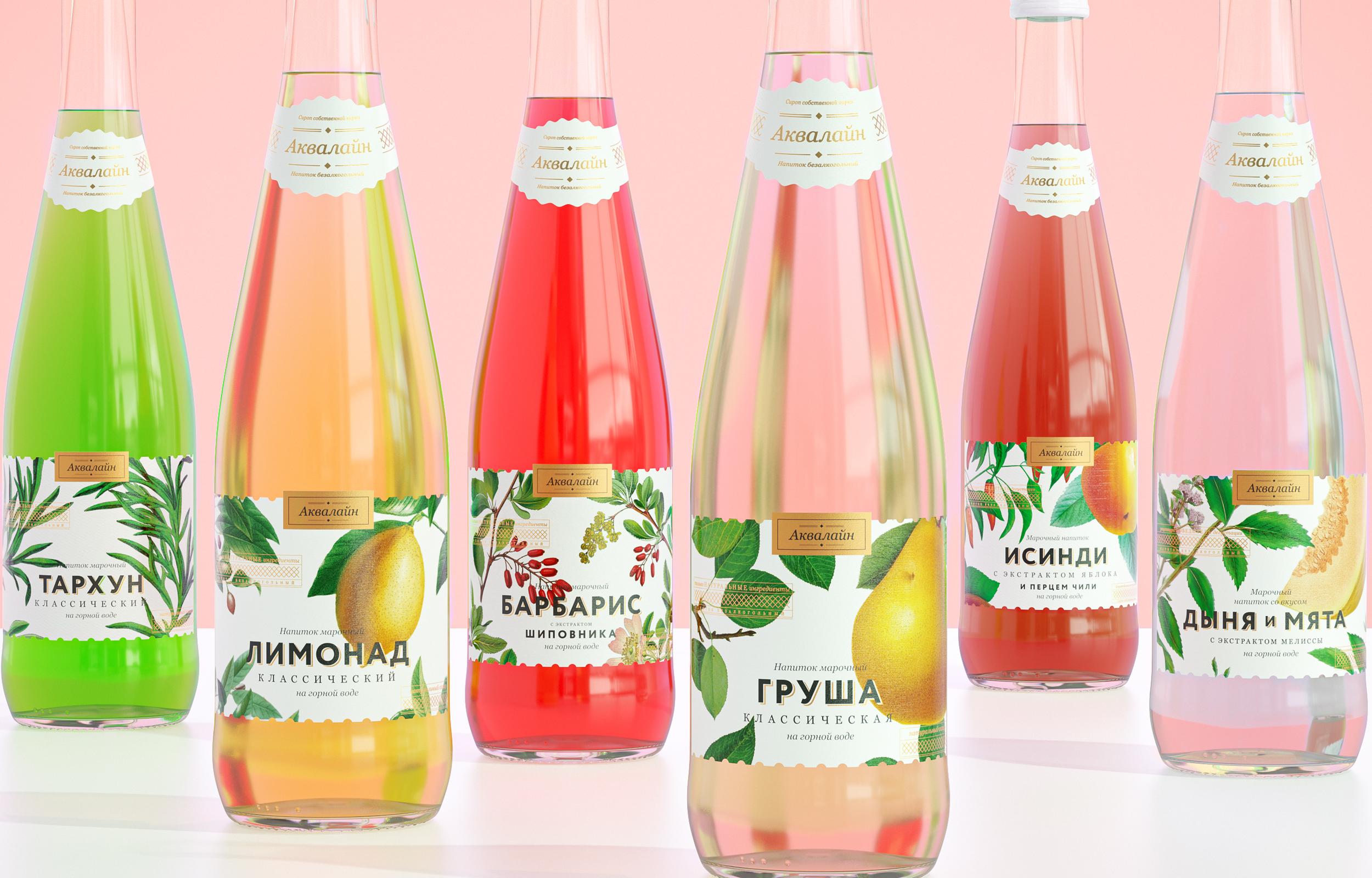 упаковка лимонадов