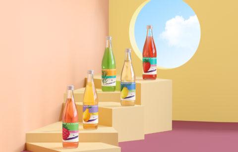 Aquanika — line of lemonades