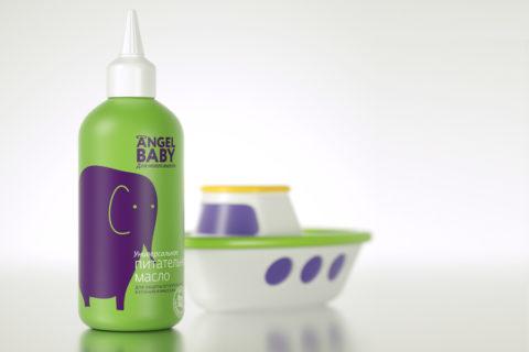 "Cosmetics packaging ""Angel Baby"""