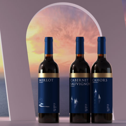 """""""Yachts and Motorboats"""" – Design of the Wine Packaging that Gives You Memories of the Sea"""