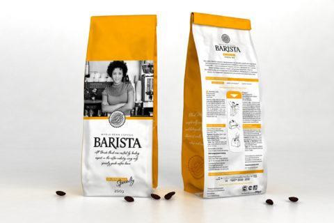 Barista: coffee packaging