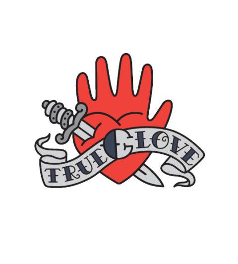 Branding for domestic gloves Trueglove
