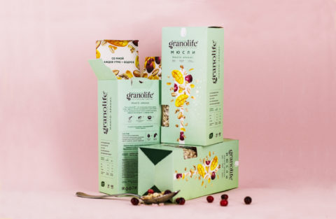 Explosion of Taste in Every Spoonful: a New Line of Granolife Muesli