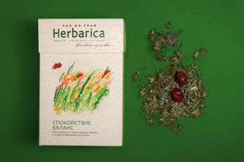 """Herbal teas """"Herbarica"""" developing"""