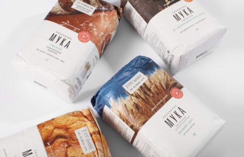 """Rebranding of the flour """"Ryazanochka"""": limitless Russian fields"""